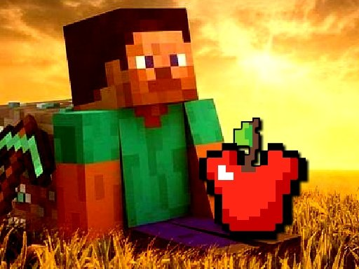 Minecraft Apple Shooter Game